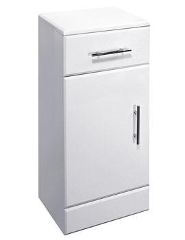 Lauren High Gloss White Cupboard 250 x 300mm - VTY032