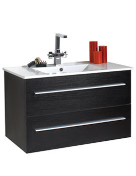 Related Phoenix Zola Wall Mounted Unit And Basin 900mm - FZ90W