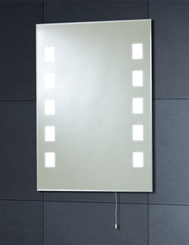 Related Phoenix Back Lit Mirror 500mm x 700mm With Pull Cord - MI006