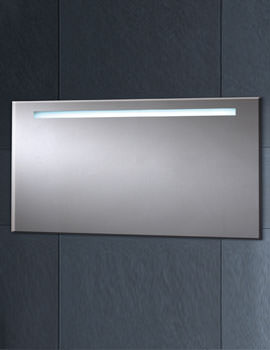 LED Mirror With Demister Pad 600mm x 1200mm - MI021