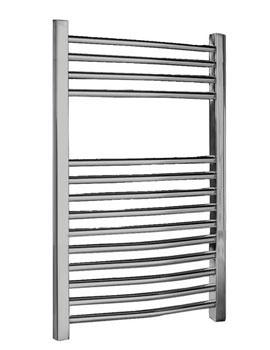 Lauren Curved Ladder Towel Warmer 500 x 700mm - MTY066