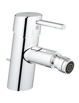 Concetto Bidet Mixer Tap With Pop-Up Waste - 32208001