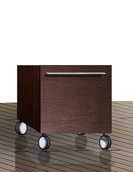 Duravit X-Large Mobile Storage Unit 400 x 400mm - XL270401818