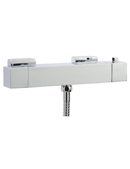 Related Phoenix Square Exposed Thermostatic Shower Bar Valve - SV014