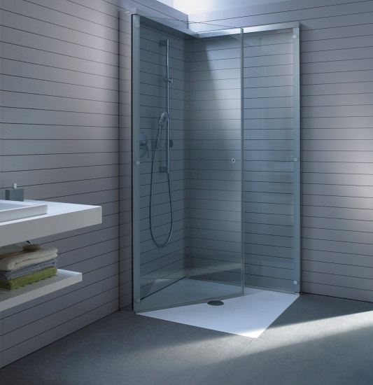 duravit open space shower screen 1000mm shower tray tap. Black Bedroom Furniture Sets. Home Design Ideas