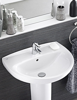 Laura 2 Tap Holes Cloakroom Basin 450mm Wide - 325315000