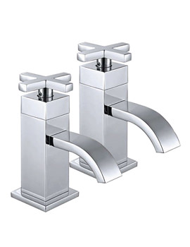 Related Phoenix DC Series Pair Of Basin Tap Chrome - DC001