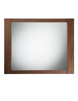 Karma Walnut Framed Mirror 600mm - KRM7MAW