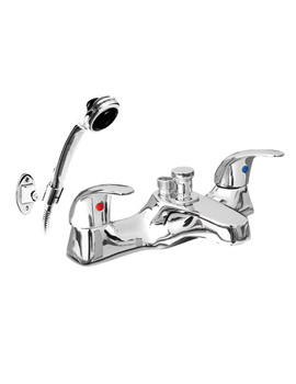 Phoenix JA Series Deck Mounted Bath Shower Mixer Tap With Shower Kit