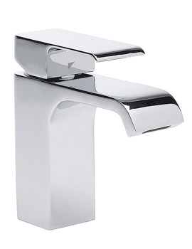 Hydra Basin Mixer Tap With Click Waste Chrome - T151102