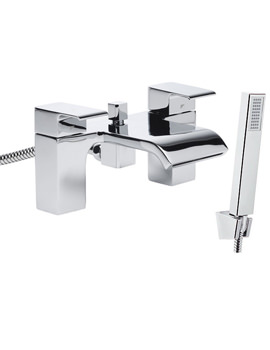 Hydra Deck Mounted Bath Shower Mixer Tap Chrome - T154202
