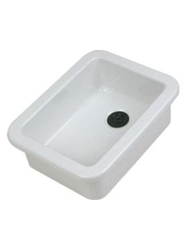 Laboratory Sink With Flanged Rim 390 x 255 x 160mm