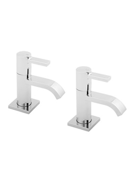 Linx Chrome Basin Taps - LINX101