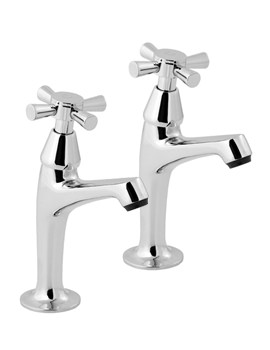 Milan Chrome Sink Taps