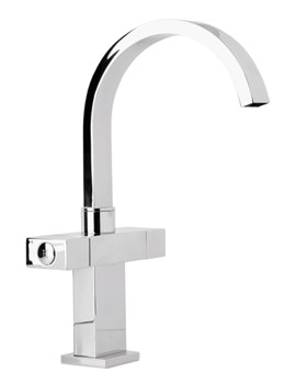 Image of Deva Edge Mono Sink Mixer Tap - EDGE104