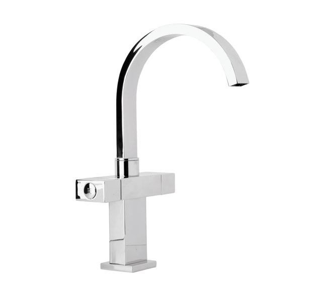 Large Image of Deva Edge Mono Sink Mixer Tap - EDGE104