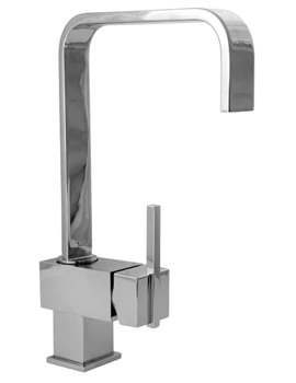 Image of Deva Edge Mono Sink Mixer Tap - EDGE118