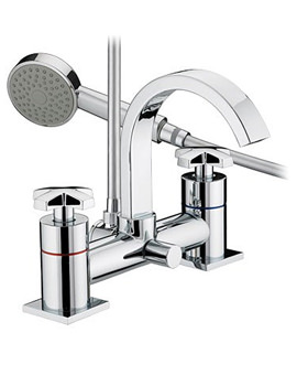 Bristan Moloko Bath Shower Mixer Tap - MLK BSM C