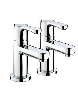 Nero Basin Taps Chrome - NR 1-2 C