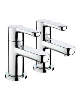 Nero Bath Taps Chrome - NR 3-4 C