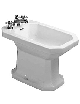 Duravit 1930 Series Floor Standing Bidet With Overflow 355mm - 0267100000