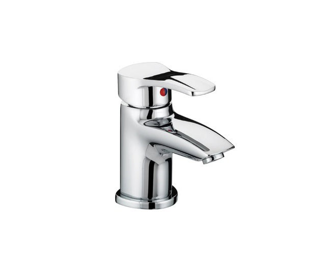 Large Image of Bristan Capri Basin Mixer Tap with Pop-Up Waste - CAP BAS C