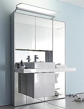 Duravit Mirrorwall Unit 1232mm With Vero Basin 500mm - MW982006767