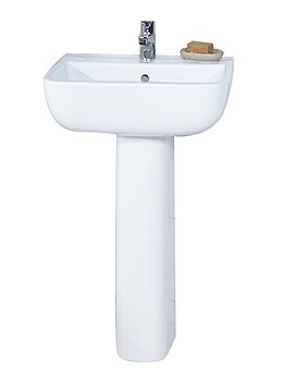 RAK Series 600 1 Tap Hole With Full Pedestal 520mm - S60052BAS1