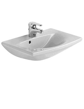 Related Duravit Caro Washbasin 500mm With Overflow - 0791500000