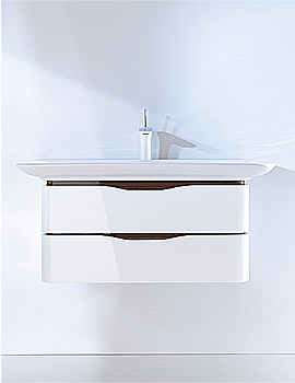 Image of Duravit Puravida Basin 1000mm on Vanity Unit 800mm -