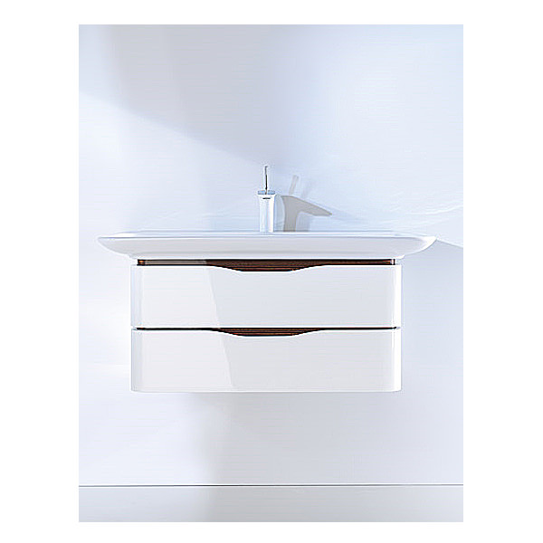Large Image of Duravit Puravida Basin 1000mm on Vanity Unit 800mm -