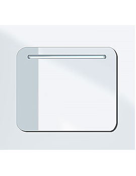 Related Duravit PuraVida Mirror With Lighting 41mm x 720mm - PV942108585