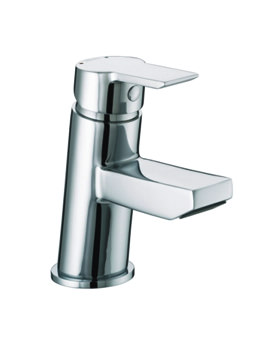 Bristan Pisa Small Basin Mixer Tap With Clicker Waste - PS SMBAS C