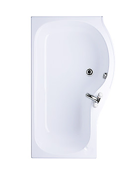 Image of Ideal Standard Space Idealform Plus Shower Bath 1700 x 700mm - E4958