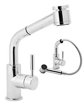 Vision Kitchen Sink Mixer Tap With Pull Out Rinser - VSN115