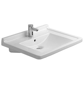 Related Duravit Starck 3 Wall Hung Basin with Overflow 700mm - 0309700000