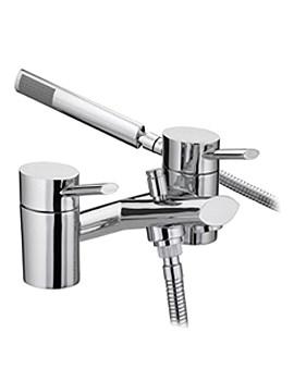 Oval Bath Shower Mixer Tap - OL BSM C