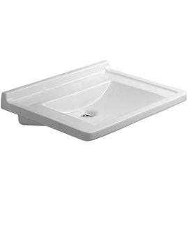 Related Duravit Starck 3 Washbasin 700mm - 0312700000