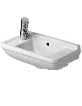 Starck 3 Handrinse Basin with Overflow 500mm - 0751500000