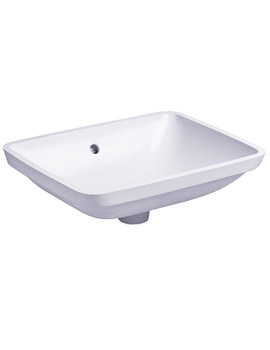 3 Vanity Undercounter Basin with Overflow 530 x 400mm - 030549