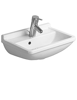 Starck 3 Handrinse Basin With Overflow 450mm - 0750450000