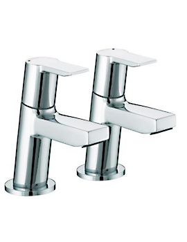 Pisa Bath Taps Chrome - PS 3-4 C