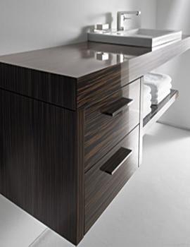 Duravit 2nd Floor Rosewood 400mm Floor Cabinet - 2F927506767