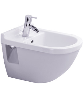Starck 3 Wall Mounted Bidet with Overflow 540mm - 2230150000