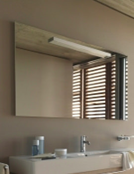 Related Duravit Fogo Mirror With Lighting 23-76 x 1800mm - FO968201313