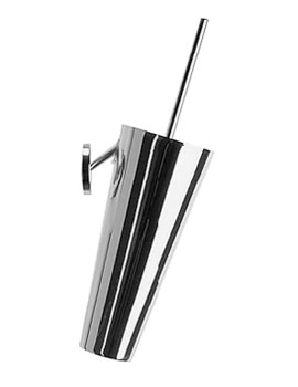 Duravit Starck 1 Wall Mounted Chrome Brush Set - 0097811000