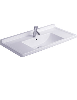 Related Duravit Starck 3 Washbasin With Overflow 850mm - 0304800000