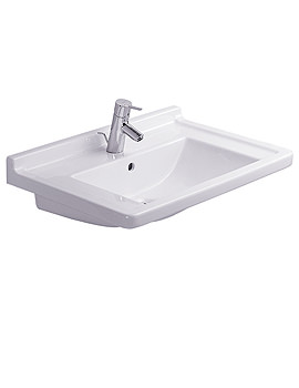 Starck 3 Washbasin With Overflow 700mm - 0304700000