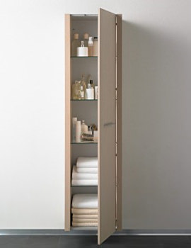 Image Of Duravit 2nd Floor Tall Cabinet 360 X 500mm
