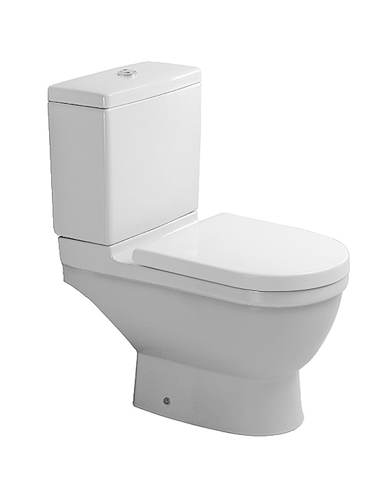 duravit starck 3 close coupled toilet with cistern seat and cover. Black Bedroom Furniture Sets. Home Design Ideas